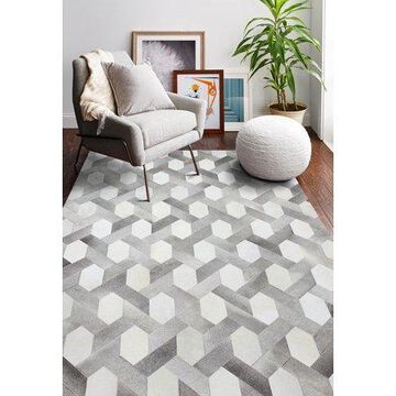 Bashian Ethan Contemporary Geometric Area Rug