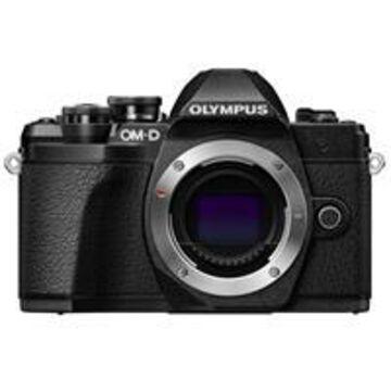 Olympus OM-D E-M10 Mark III Mirrorless Camera Body, Black