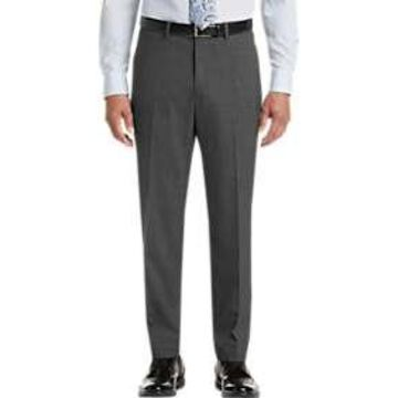 Pronto Uomo Gray Modern Fit Dress Slacks