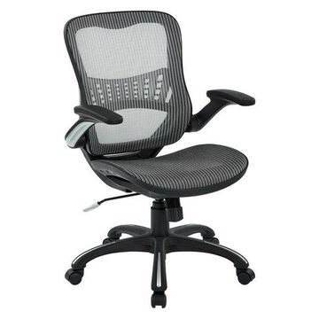 ''New Office Star Mesh Back & Seat, 2-to-1 Synchro & Lumbar Support Managers C''