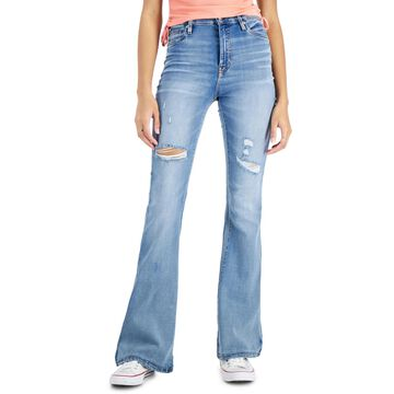 Celebrity Pink Juniors' High Rise Flare Jeans