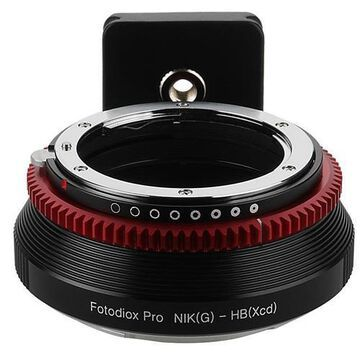 Fotodiox Pro Lens Mount Adapter for Nikon Nikkor F Mount G-Type D/SLR Lens to Hasselblad XCD Mount M