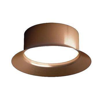 Maine LED Flush Mount Ceiling Light by Estiluz - Color: Copper - Finish: Matte - (034114472)