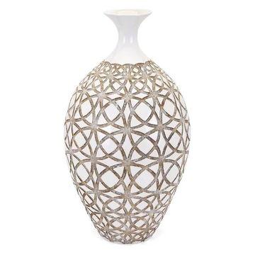 Imax Kelsang Tall Earthenware Vase