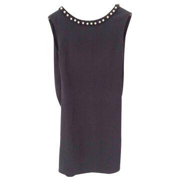 Emporio Armani Black Silk Dresses