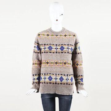 Victoria Beckham Pink Wool Knitwear