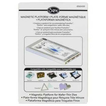 Sizzix Magnetic Platform for Wafer-Thin Dies