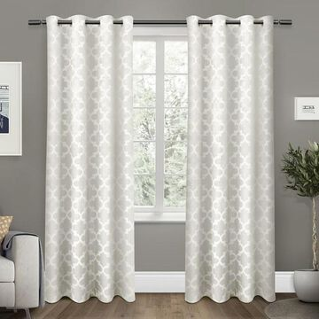 Exclusive Home 2-pack Cartago Insulated Woven Blackout Window Curtains