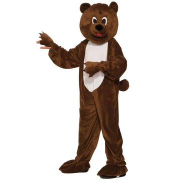 Forum Novelties Teddy Bear Mascot Child Costume (Medium) - Brown - M