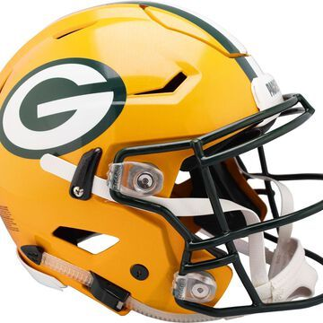 Riddell Green Bay Packers Speed Flex Authentic Football Helmet