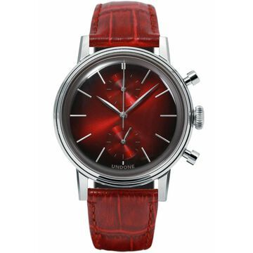 NEW Undone Mystique Chrono Mars Red Silver | AUTHORIZED DEALER