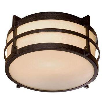 Minka-Lavery Andrita Court One Light Flush Mount 72029-A179-PL