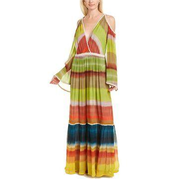 Missoni Abito Lungo Silk-Blend Maxi Dress