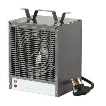 Dimplex Fan-Forced Construction Heater, 4800W/240V, Gray