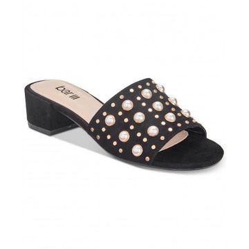 Bar III Womens Jazzy Open Toe Casual Slide Sandals