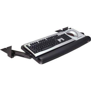 3M Adjustable Underdesk Keyboard Drawer, Charcoal Gray
