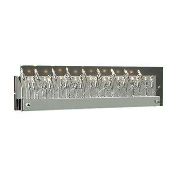 PLC Lighting 1-Light Chrome Modern/Contemporary Vanity Light Bar   81642 PC