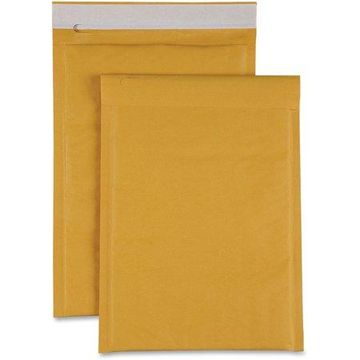 Sparco, SPR74979, Size 00 Bubble Cushioned Mailers, 250 / Carton, Kraft