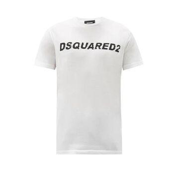 Dsquared2 - Logo-print Cotton-jersey T-shirt - Mens - White