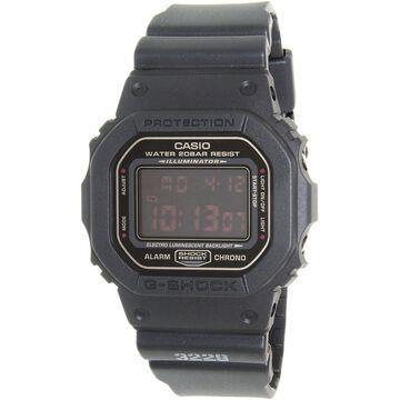 Casio Men's G-Shock DW5600MS-1 Black Resin Quartz Sport Watch