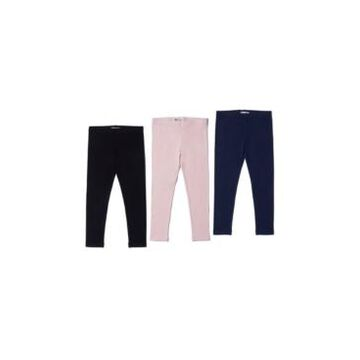 Toddler Girls Basic Legging Bundle, 3 Piece