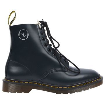 Undercover Blue Leather Boots