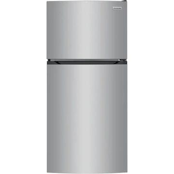 Frigidaire 13.9-cu ft Top-Freezer Refrigerator (Brushed Steel) ENERGY STAR   FFHT1425VV