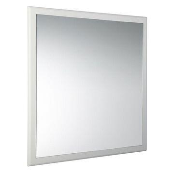 Fresca Oxford 31.87-in Antique White Square Frameless Bathroom Mirror