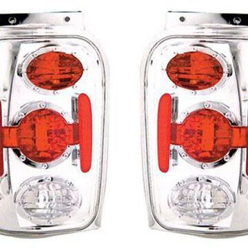 IPCW Euro Tail Lights in Clear
