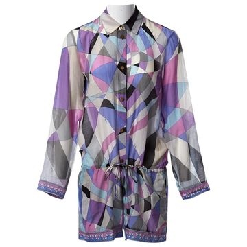 Emilio Pucci Multicolour Cotton Jumpsuits