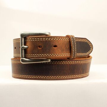 N2301244-36 Austin USA Belt, Medium Brown - Size 36