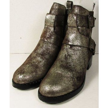 Gentle Souls Womens 'Best Of MF' Motorcycle Ankle Boots