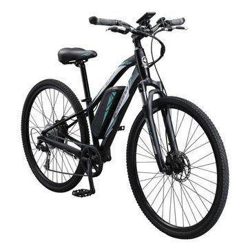Schwinn Sycamore ELECTRIC 350 watt hub-drive, mountain/hybrid, bicycle, 8 speeds, Womens size small, grey