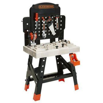 BLACK+DECKER Jr. Mega Power N Play Workbench with Realistic Sounds! - 52 Too...