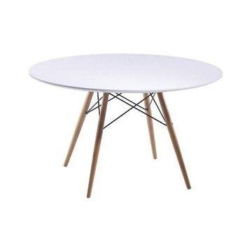 Fine Mod Imports Wood Leg Dining Table, 29