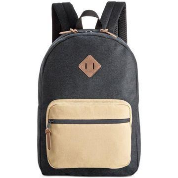 American Rag Mens Black Everyday Backpack