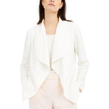 Alfani Draped Jacquard Jacket, Created for Macy's