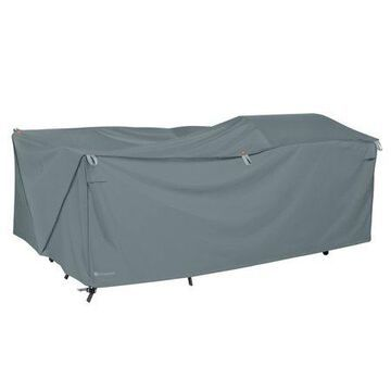 Classic Accessories Storigami Water-Resistant 100 Inch Easy Fold Patio Furniture Cover, Monument Grey