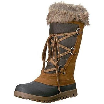 BareTraps Women's Bt Yardley Snow Boot, Whiskey, 7.5 M US