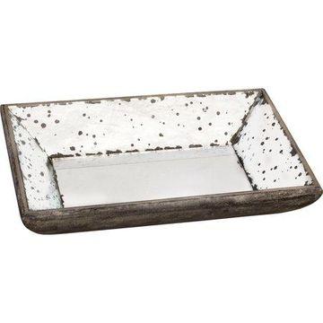 A&B Home Glass Trays, Set of 2
