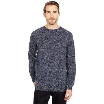 Filson 4GG Crew Neck Sweater (Navy Marled) Men's Sweater
