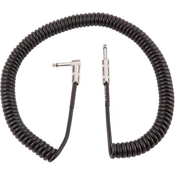 Fender Vintage Voltage Coil Straight-Angle Instrument Cable 20 ft. Black