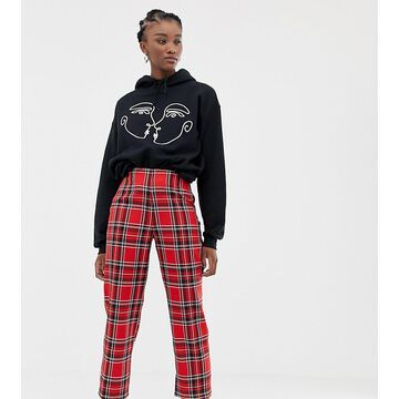 Reclaimed Vintage inspired pants in check