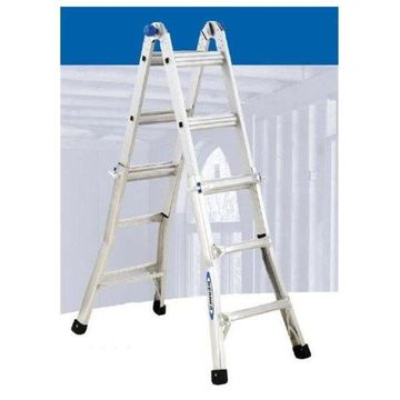 Werner 13andApos; Duty Rating Telescoping Multi-Ladder
