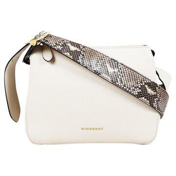 Burberry Ecru Python Handbag