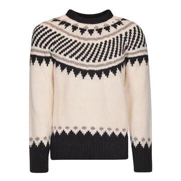 Rib Knit Sweater Roberto Collina