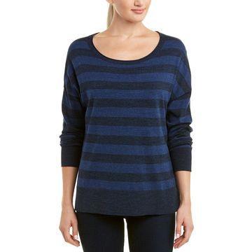 Nydj Womens Striped Sweater