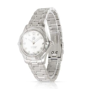 Pre-Owned Tag Heuer Aquaracer WAF1312.BA0817 Unisex Watch in Stainless Steel