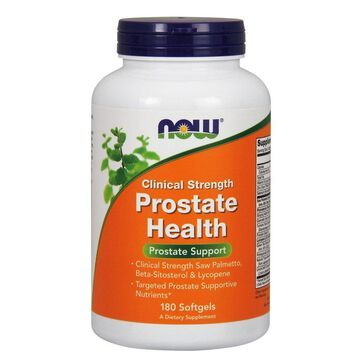 Clinical Strength Prostate Health Now Foods 180 Softgel