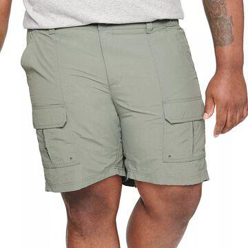 Big & Tall Croft & Barrow Outdoor Ripstop Cargo Shorts, Men's, Size: 48, Med Grey